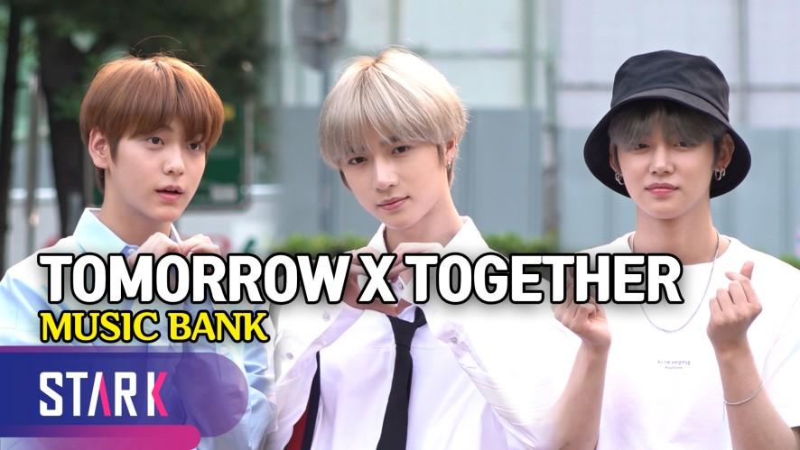 투모로우바이투게더, 반짝반짝 다섯 소년들 (TXT, MUSIC BANK)