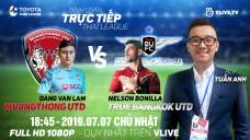 [TRỰC TIẾP] MUANGTHONG UNITED vs TRUE BANGKOK UNITED | BLV: Tuấn Anh