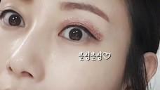 [1분팁]글리터섀도바르는방법 How to apply glitter eyeshadow