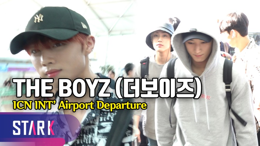 더보이즈, 훈훈한 출국길 비주얼 (THE BOYZ, 20190705_ICN INT' Airport Departure)