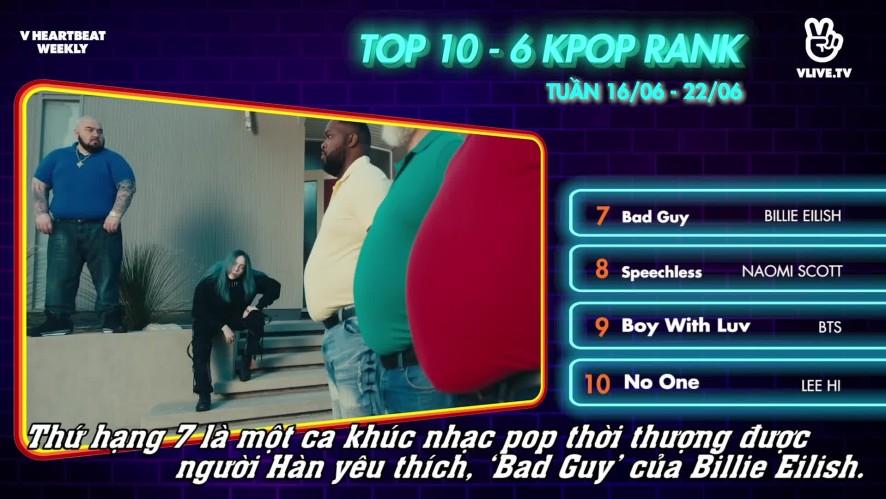 [V HEARTBEAT WEEKLY] Ep.50- K POP CHART & NEWS