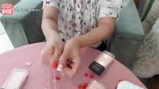 [1분팁] 여름 젤네일 내 손톱에 맞는 네일 찾기 Finding the right summer gel nails for my fingernails