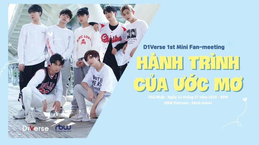 D1Verse 1st Mini Fan Meeting <Hành Trình Của Ước Mơ>