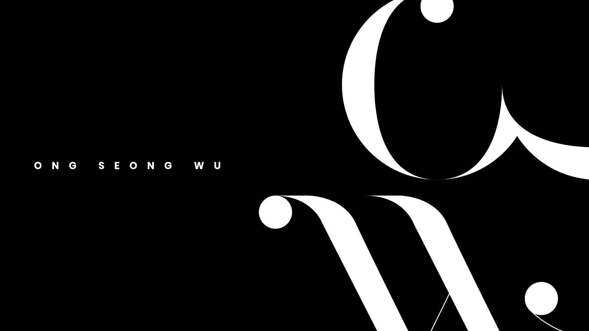 ONG SEONG WU 옹성우 - OFFICIAL LOGO MOTION