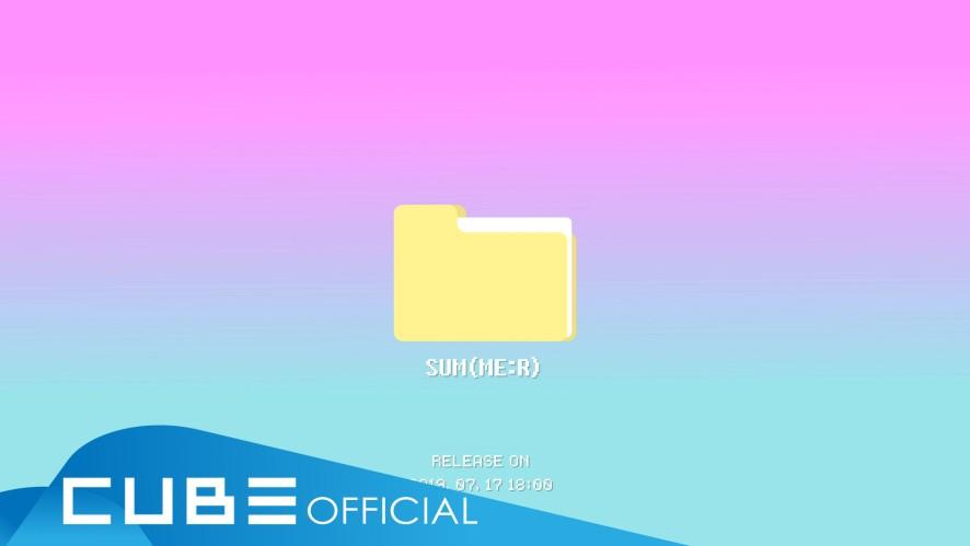 """펜타곤 - 9th Mini Album """"SUM(ME:R)"""" Audio Snippet"""