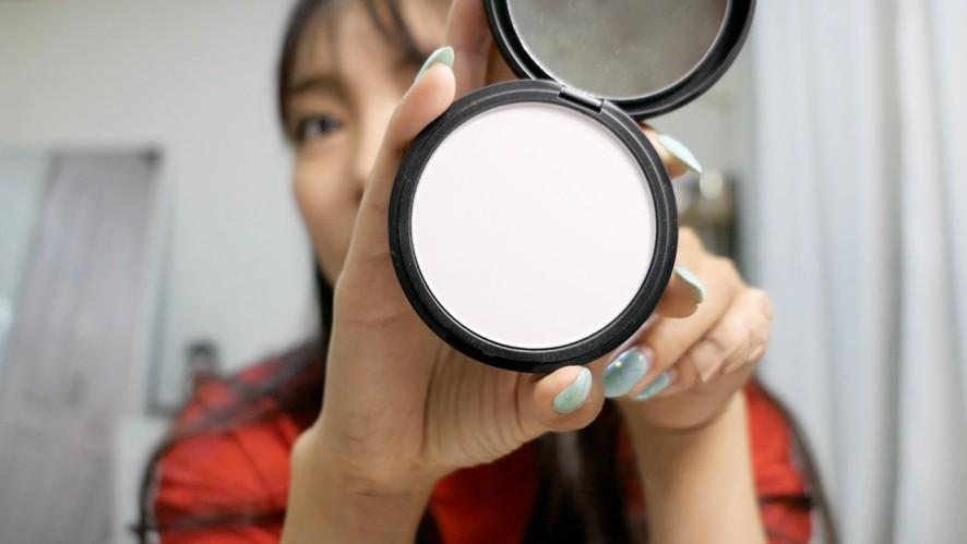 화장 후 얼굴기름잡는방법 How to oil the face after putting on makeup