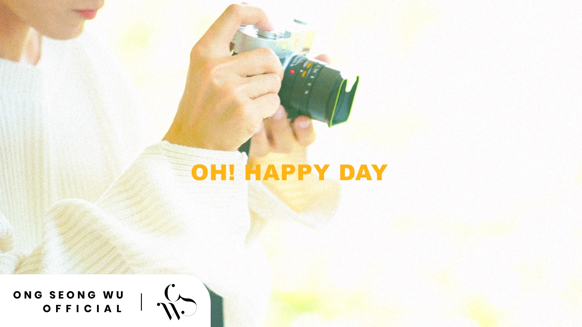 ONG SEONG WU 옹성우 - PHOTO EXHIBITION 'Oh! Happy Day' Teaser #1