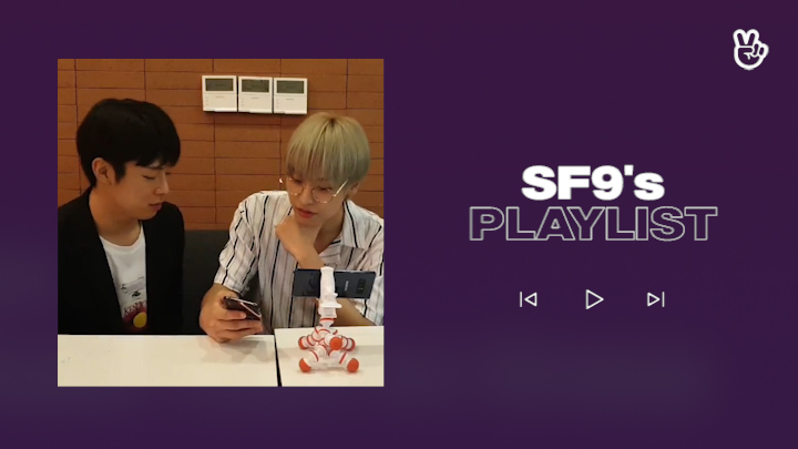 [V PICK! Playlist] SF9's Play List👅🌰🎶