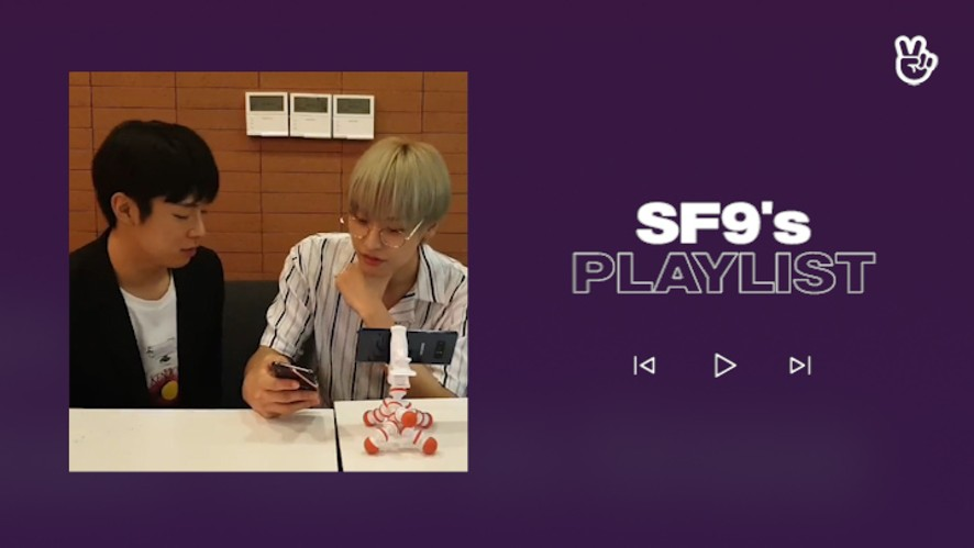 [V PICK! Playlist] SF9's Play List👅🌰🎶