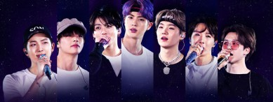 BTS WORLD TOUR 'LOVE YOURSELF: SPEAK YOURSELF' in Wembley Stadium