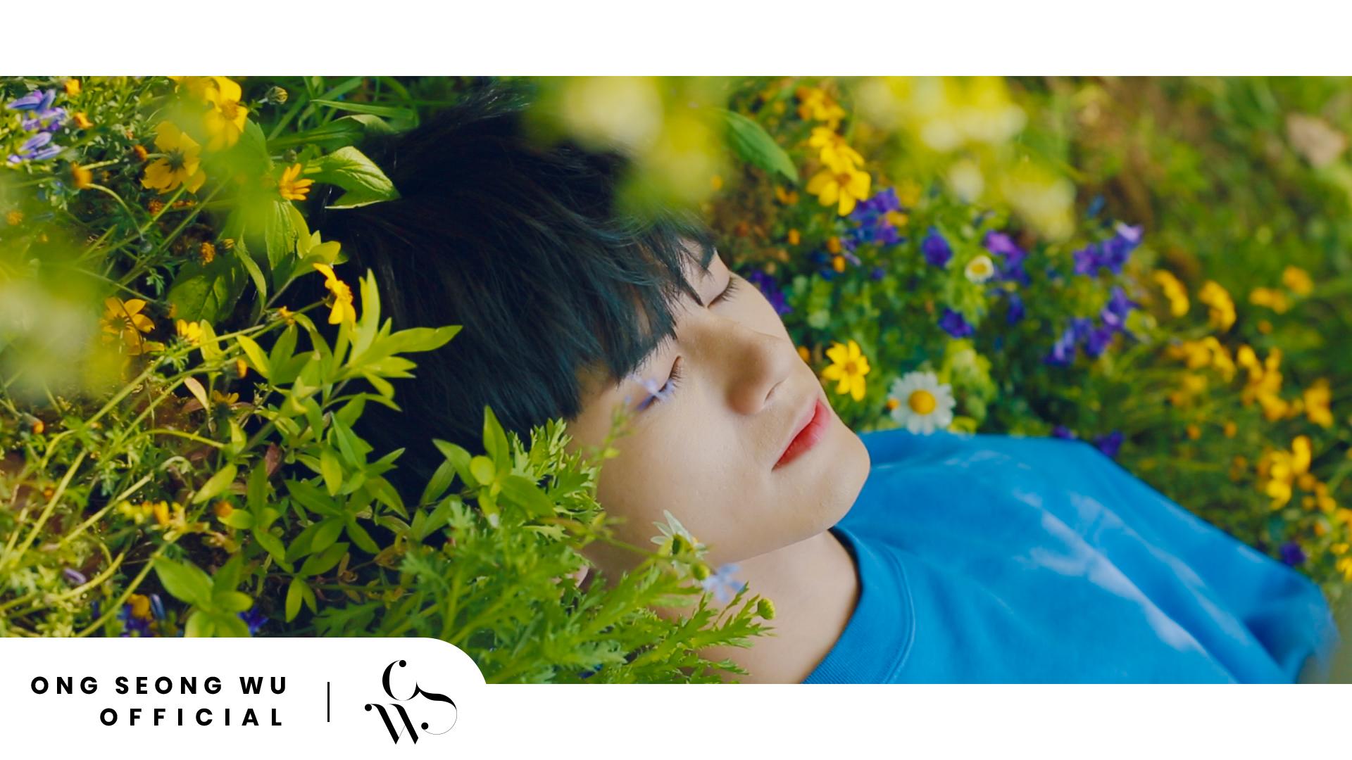 ONG SEONG WU 옹성우 - '열여덟의 순간' 포스터 촬영장