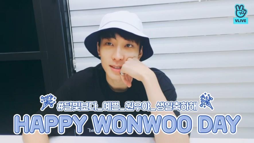 [SEVENTEEN] 🌕달빛보다 예쁘고 밝고 골져스하고 소중한 원우의 생일을 축하해🐱 (Happy Wonwoo day +1)