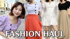 2~3만원대 패션하울 🍑옷 선물로 드릴게요! (브랜디-쇼핑몰 열다?!)⎮ 소정 SOJEONG
