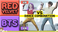 BTS와 레드벨벳의 춤을 동시에 춰본다면? 정국+아이린 VS 현진 (FULL▶Jamfully YouTube)