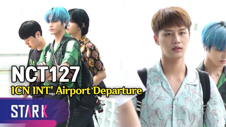 NCT127 출국, 'Long flight' 들으며 Safe flight~ (NCT127, 20190719_ICN INT' Airport Departure)