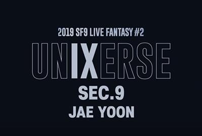 2019 SF9 LIVE FANTASY #2 UNIXERSE 9 SECONDS – JAE YOON