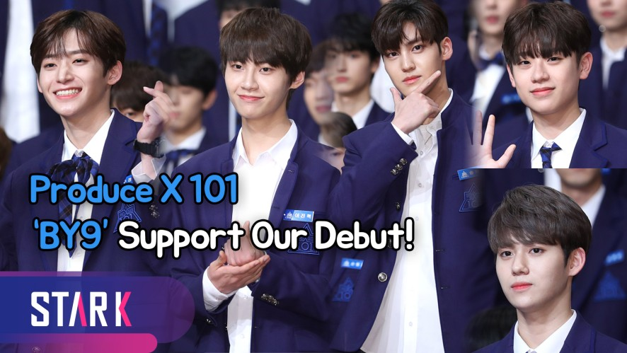 Produce X 101, 'BY9' Support Our Debut! (프로듀스 X 101, '바이나인' 데뷔를 부탁해!)