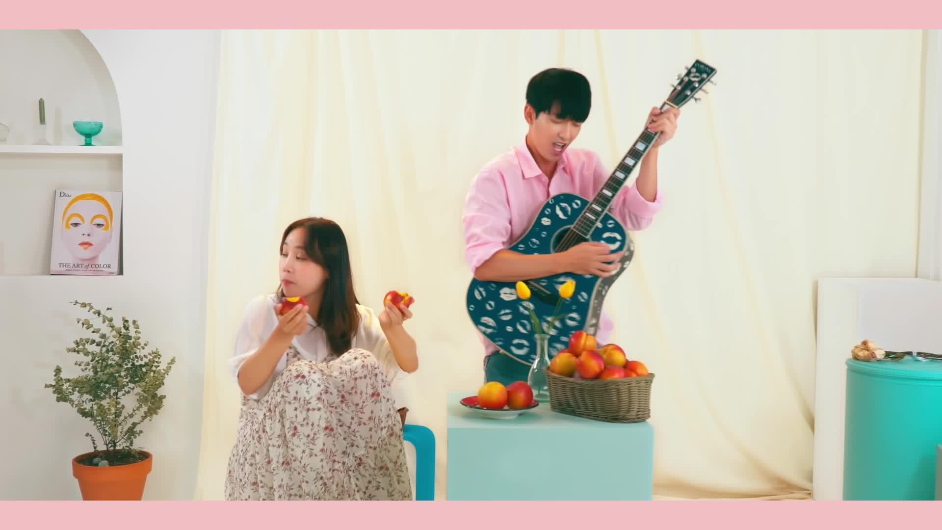 [M/V] Peach (Feat. Henry) 복숭아 (Feat. 헨리) - Jung Mo (정모)