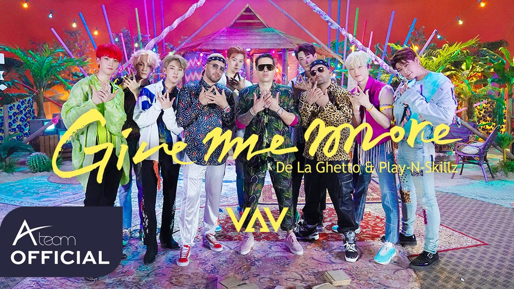VAV - 'Give me more(Feat. De La Ghetto & Play-N-Skillz)' Music Video