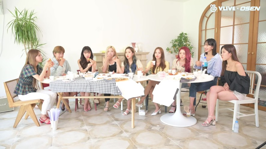 WJSN's know-how for an eating show?