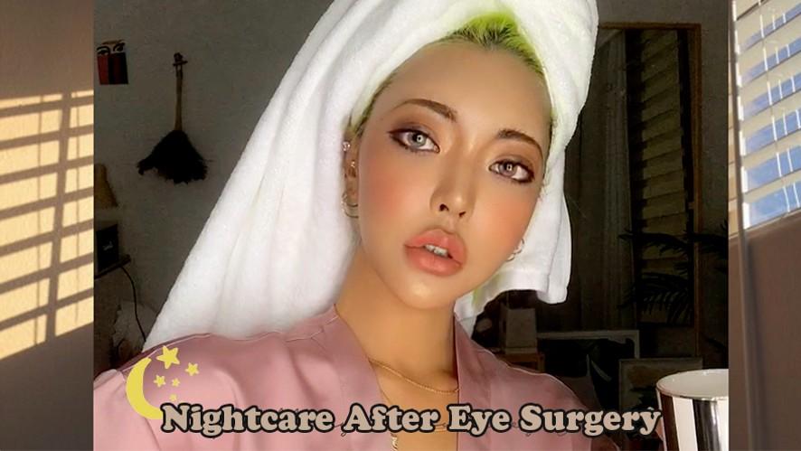 [Engcc]쌍꺼풀 수술후 세안,스킨케어하면서 붓기빼는법 +수술TMIㅣk beauty skin care after plastic su