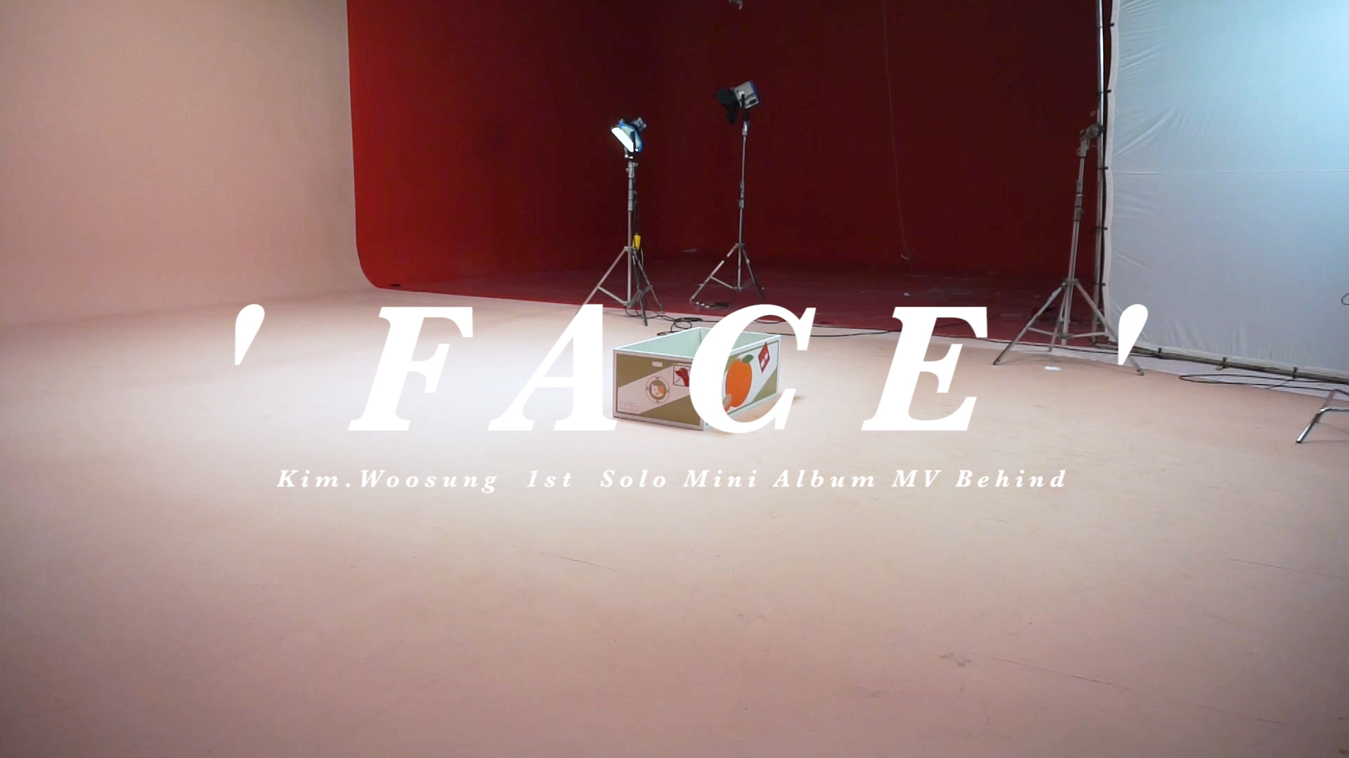 "김우성 ""FACE"" MV 비하인드  (KIM WOO SUNG MV Behind)"
