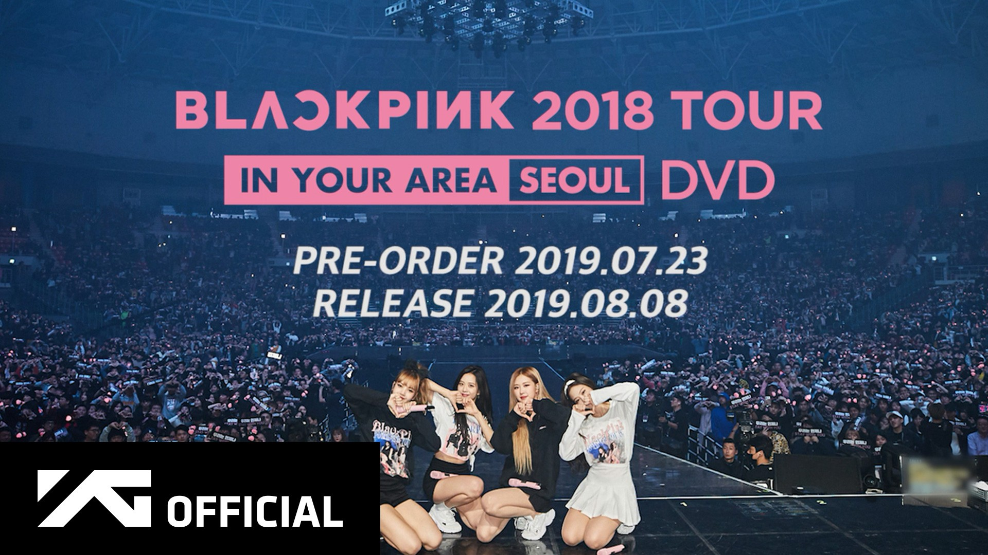 BLACKPINK - 2018 TOUR [IN YOUR AREA] SEOUL DVD