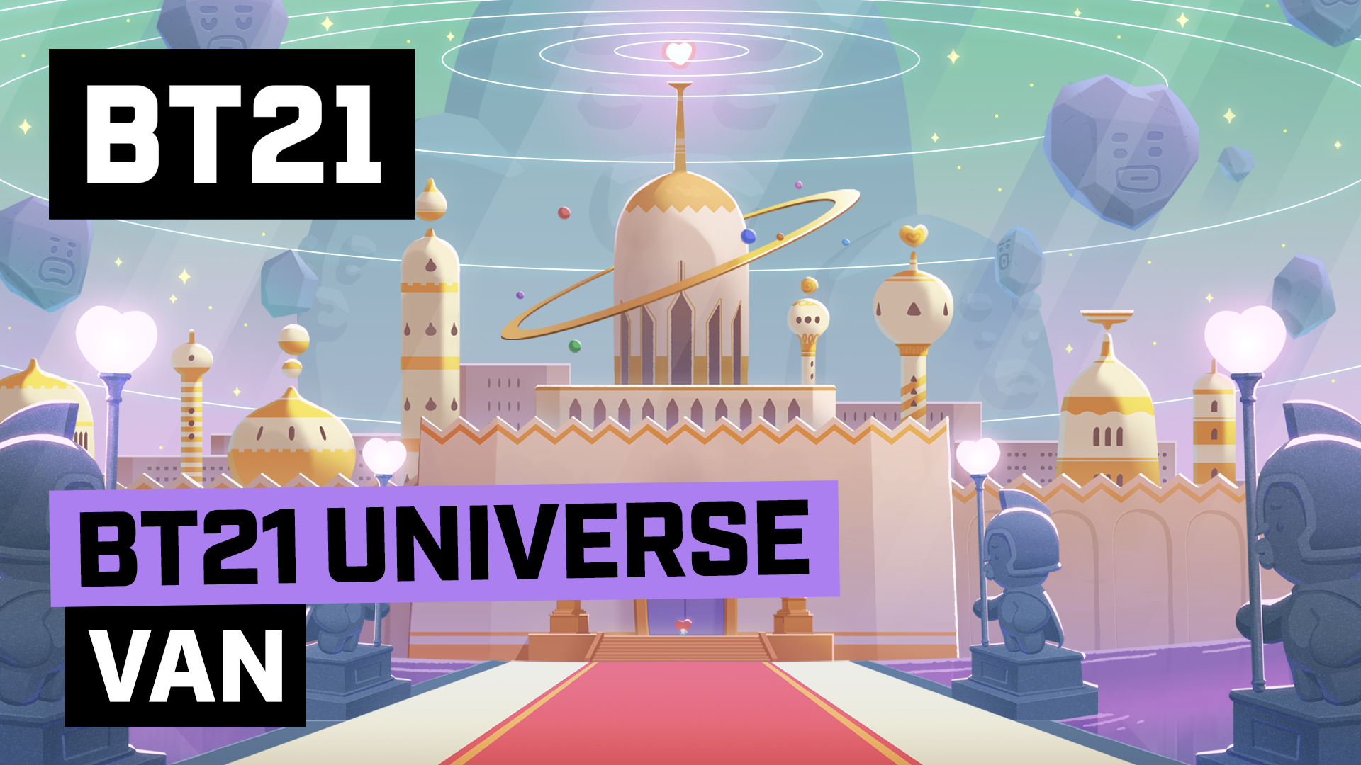 [BT21] BT21 UNIVERSE ANIMATION EP.01 - VAN