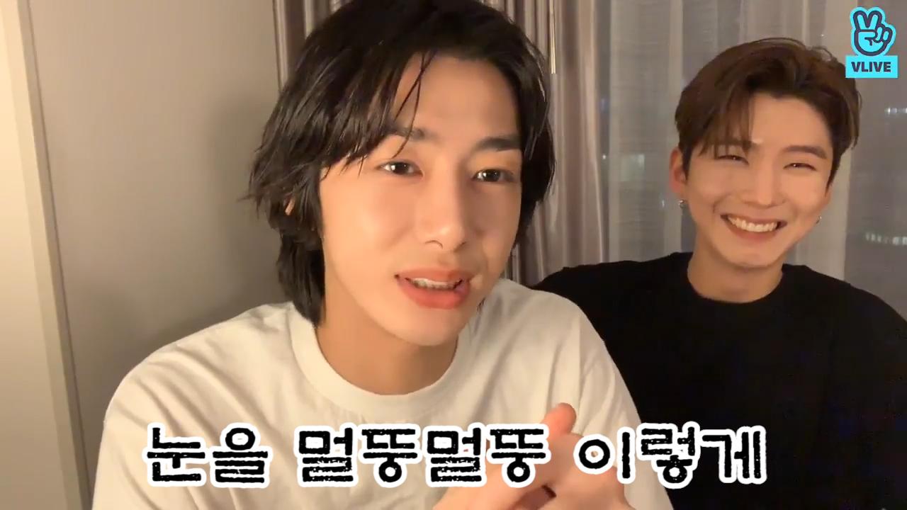 [MONSTA X] 동방예의지국 청학동 서당 수석졸업 비주얼로 티격태격하는 보브 보실 분🐢🐹 (Hyungwon&Kihyun talking about game episode)