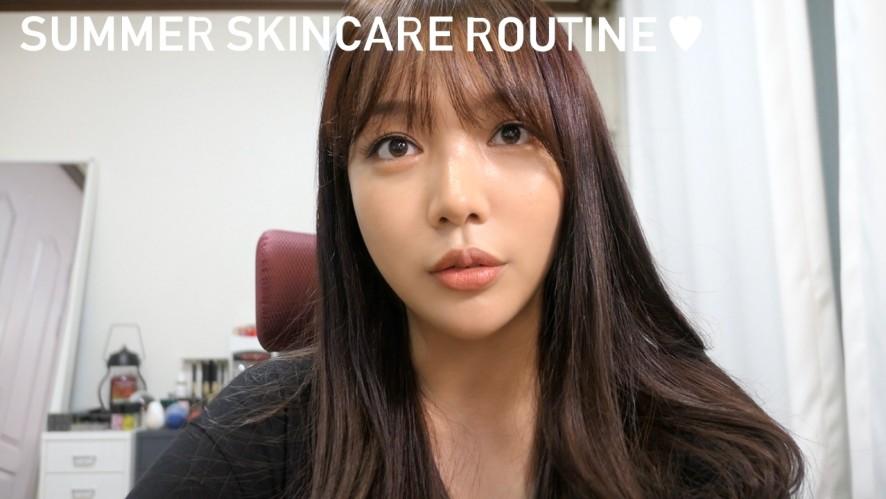 가성비 꿀~ 자연주의 티엔 여름철 스킨케어 루틴 소개해요 :) Summer skincare routine