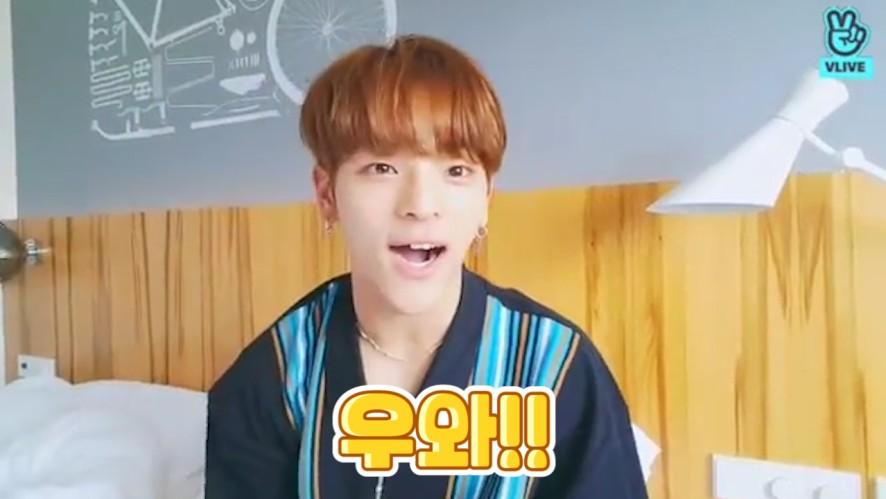 [Stray Kids] 동그란 눈에 까만 작은 코 갈색머리를 한 예쁜 반달곰🐻🎶  (WOOJIN planning to his contents)