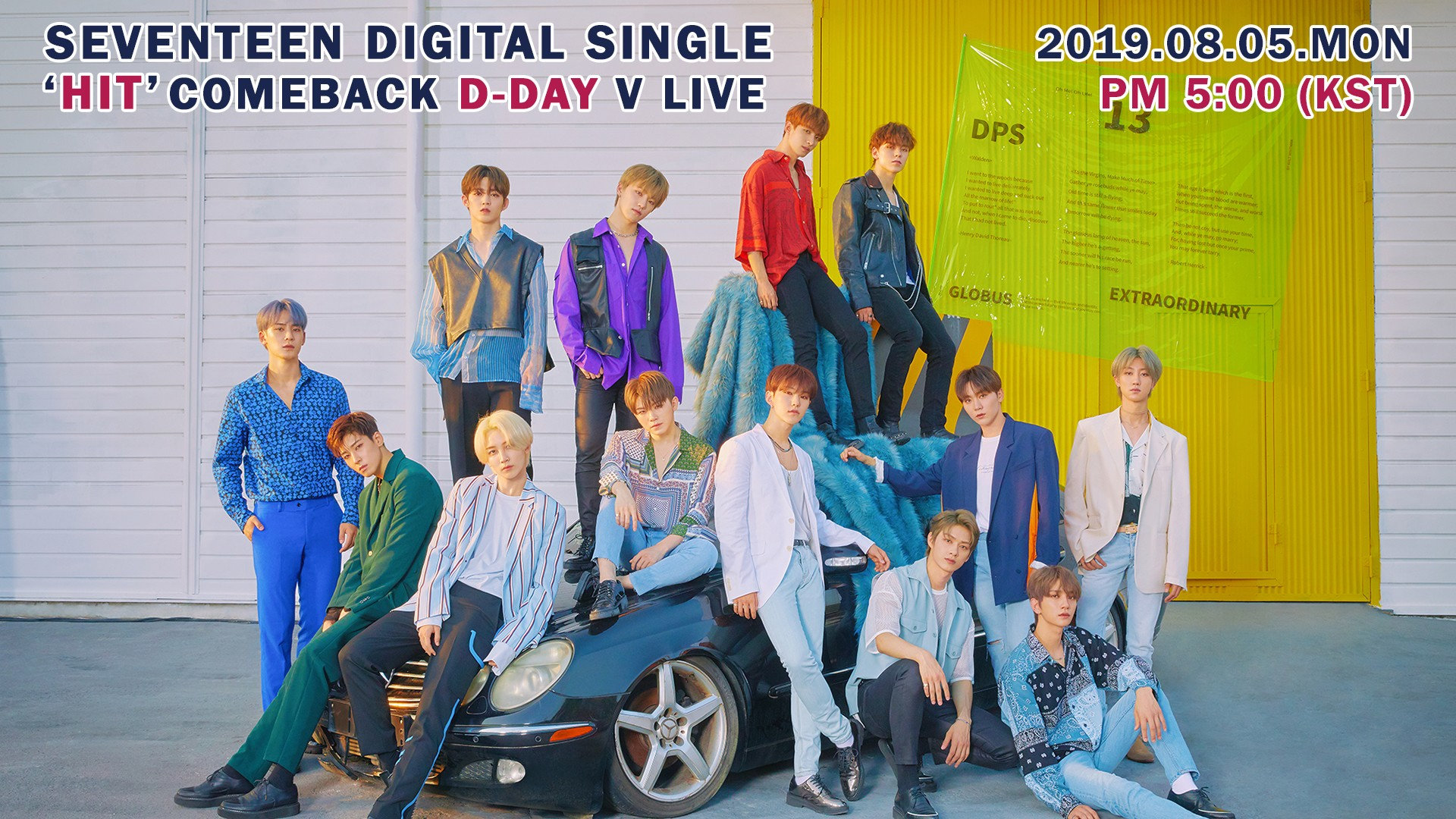 SEVENTEEN DIGITAL SINGLE 'HIT' COMEBACK D-DAY V LIVE