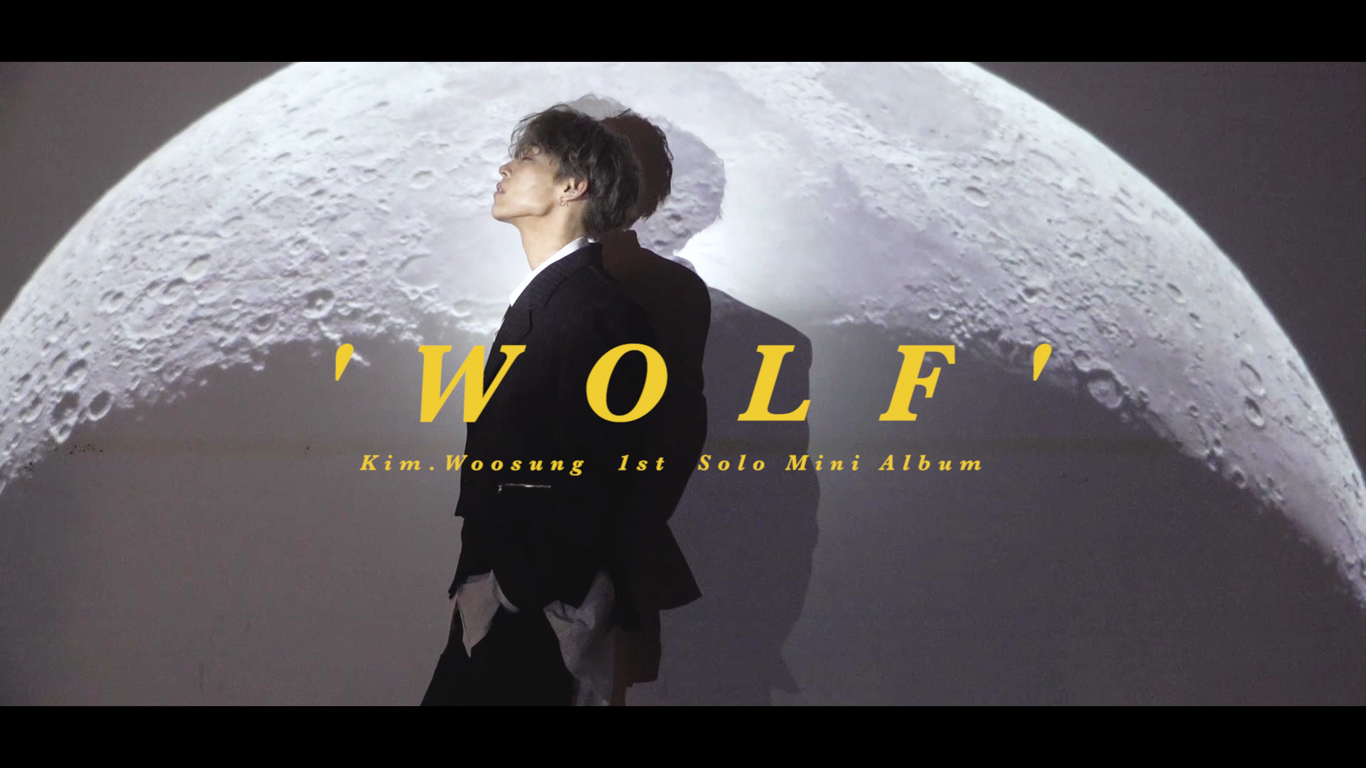 "김우성 ""WOLF"" 자켓 촬영 비하인드  (KIM WOO SUNG Jacket Shooting Behind)"
