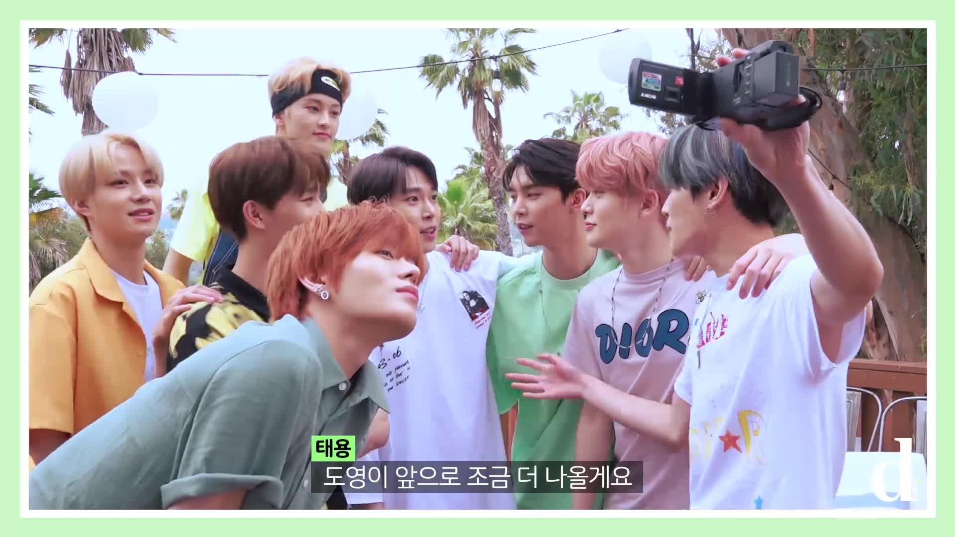 """[Dicon] """"달콤 살벌한 초콜릿 먹방"""" (NCT 127 in LA)"""