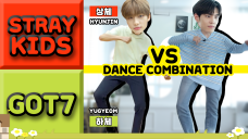 Dancing infamous JYP boy group songs at once