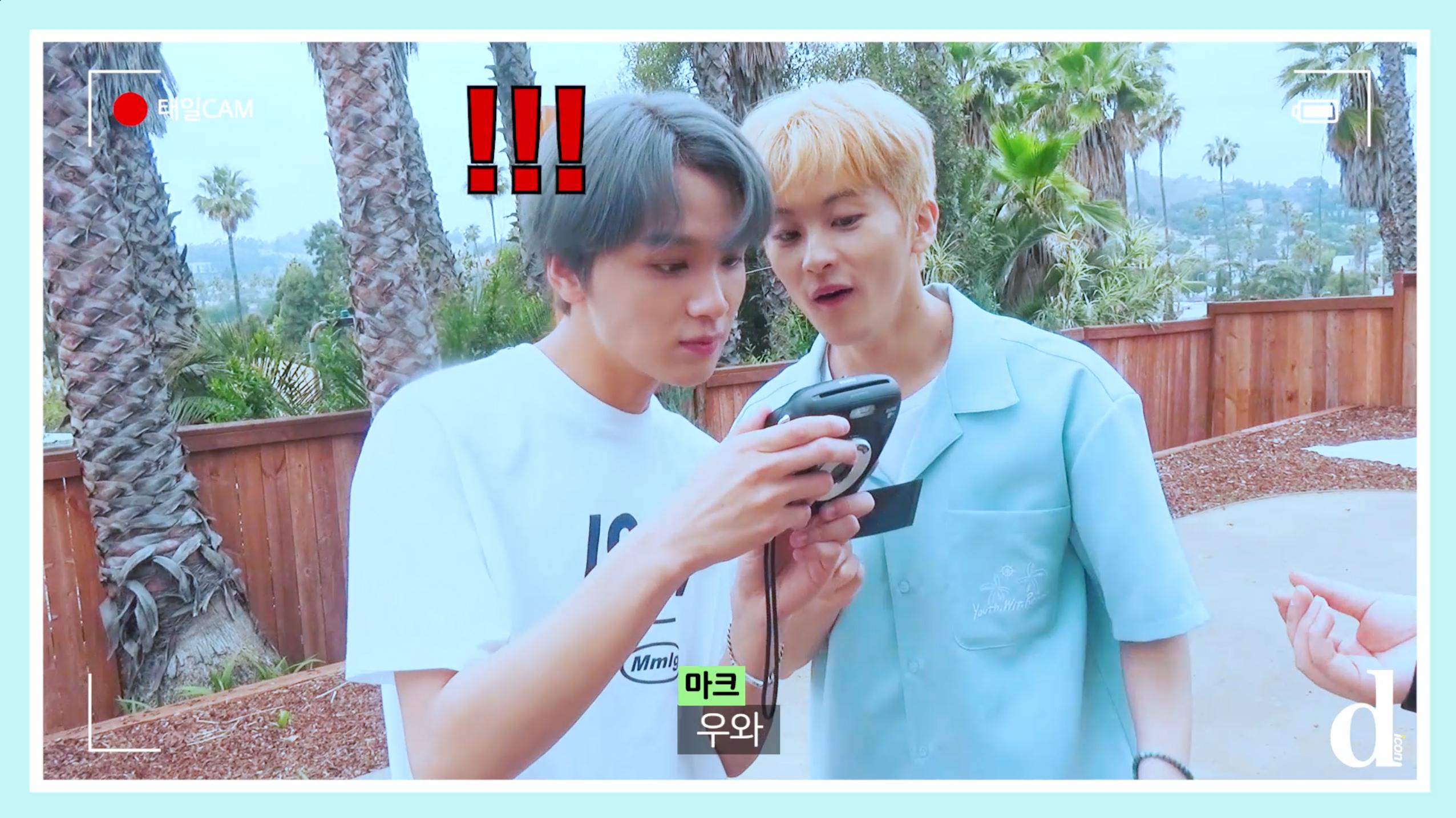 """[Dicon] """"우당탕탕 폴라로이드 꾸미기"""" (NCT 127 in LA)"""
