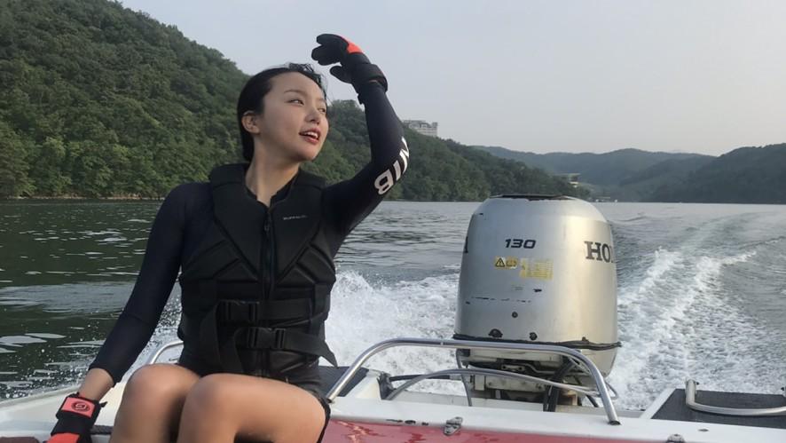 [VLOG] 수상스키의 매력에 풍덩~ Toriang's Waterski ♥
