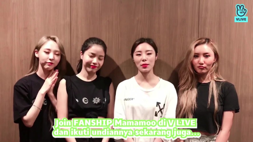 MAMAMOO Video Greeting for V HEARTBEAT in JAKARTA