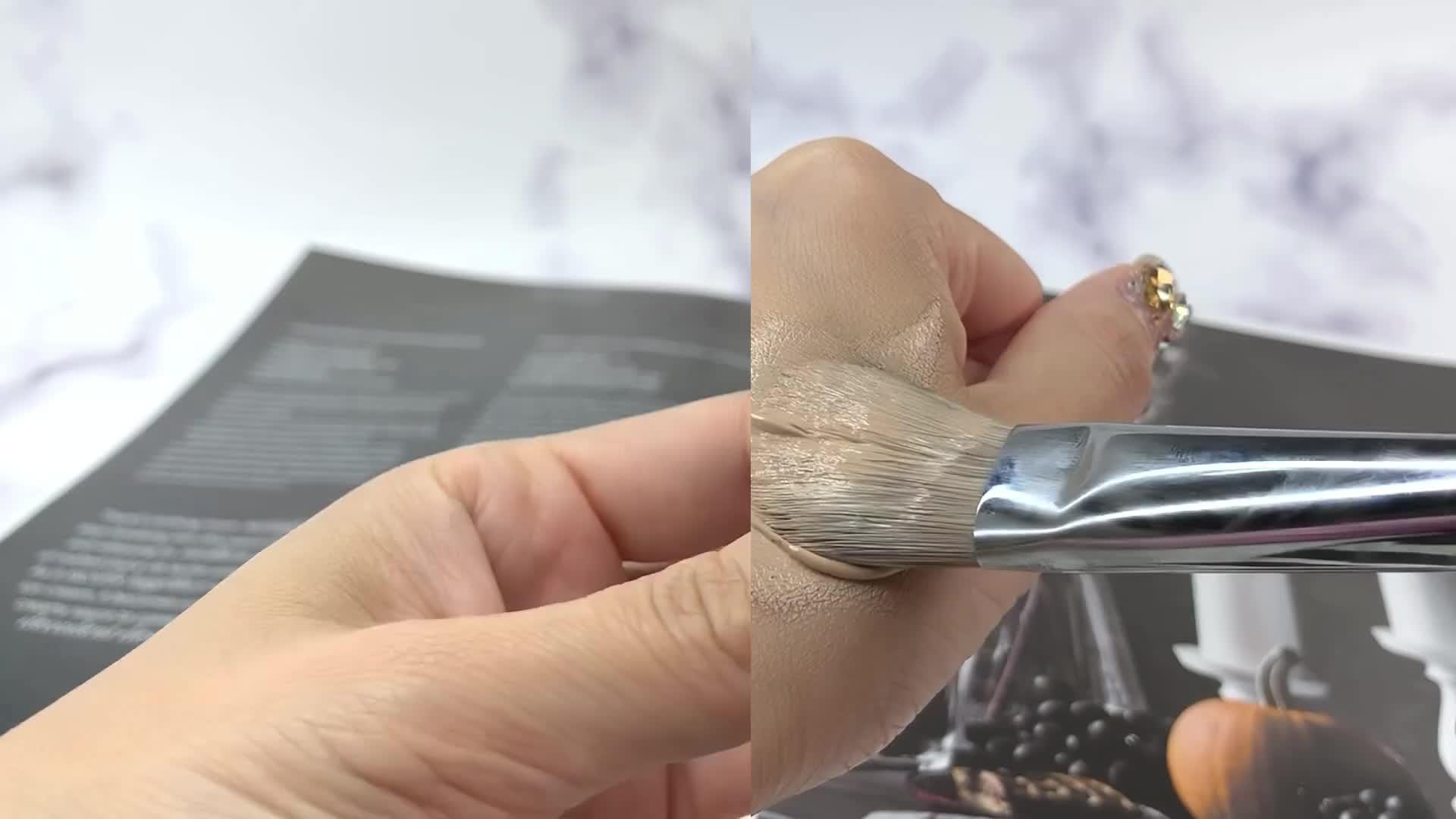 [1분팁] 갈라진 브러쉬 새로산 브러쉬 길들이기 break in brush