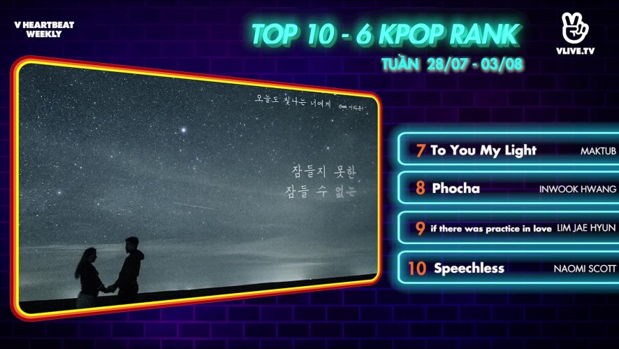 [V HEARTBEAT WEEKLY] Ep.56- K POP CHART & NEWS