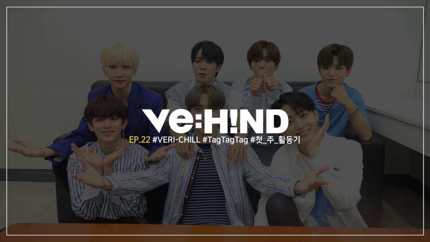 [VE:HIND] #VERI-CHILL #TagTagTag #첫_주_활동기