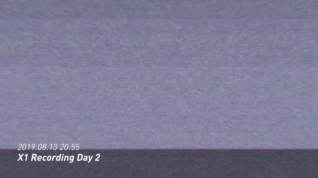 "[X""] X1 Recording Day 2"