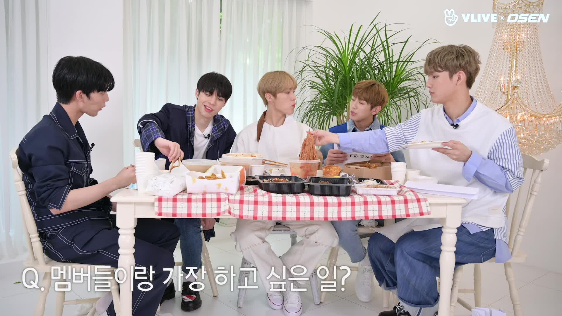 스타로드' CIX 배진영, 특이한 먹방 노하우? #EP 13