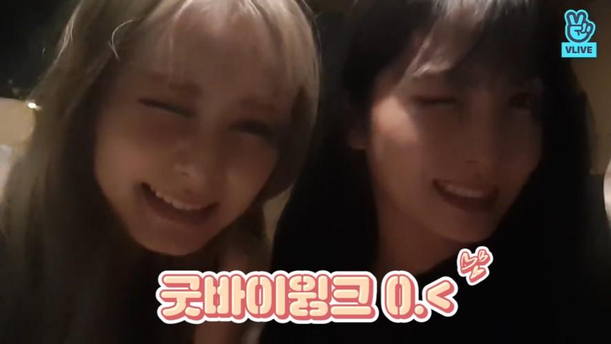 [TWICE] 🍽모쯔가 만들어준 거라면 잡초자갈비빔밥도 한입에 꿀꺽👌💕 (TZUYU&MOMO talking about cooking)