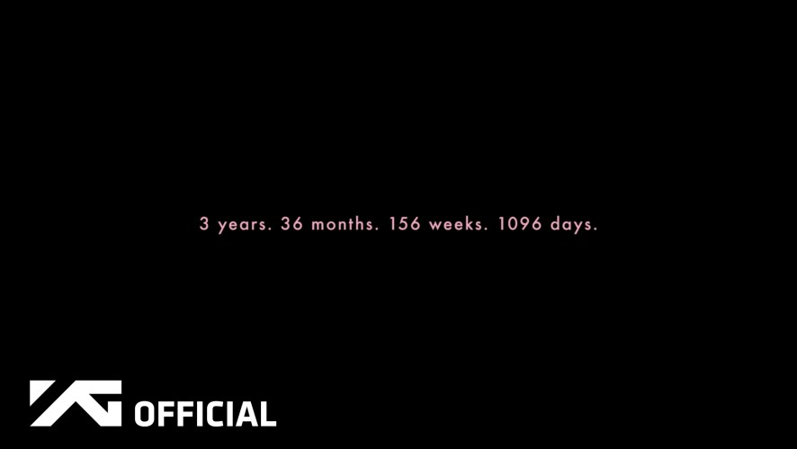 BLACKPINK - 3 YEAR DEBUT ANNIVERSARY