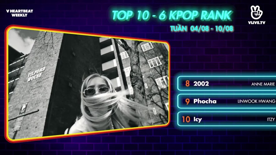 [V HEARTBEAT WEEKLY] Ep.57- K POP CHART & NEWS