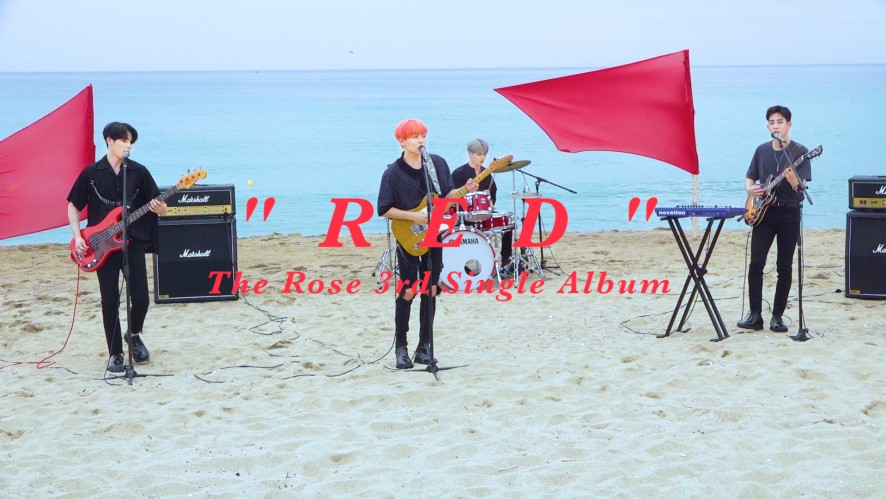 "더로즈 ""RED"" MV 비하인드 ( The Rose ""RED"" MV Behind )"