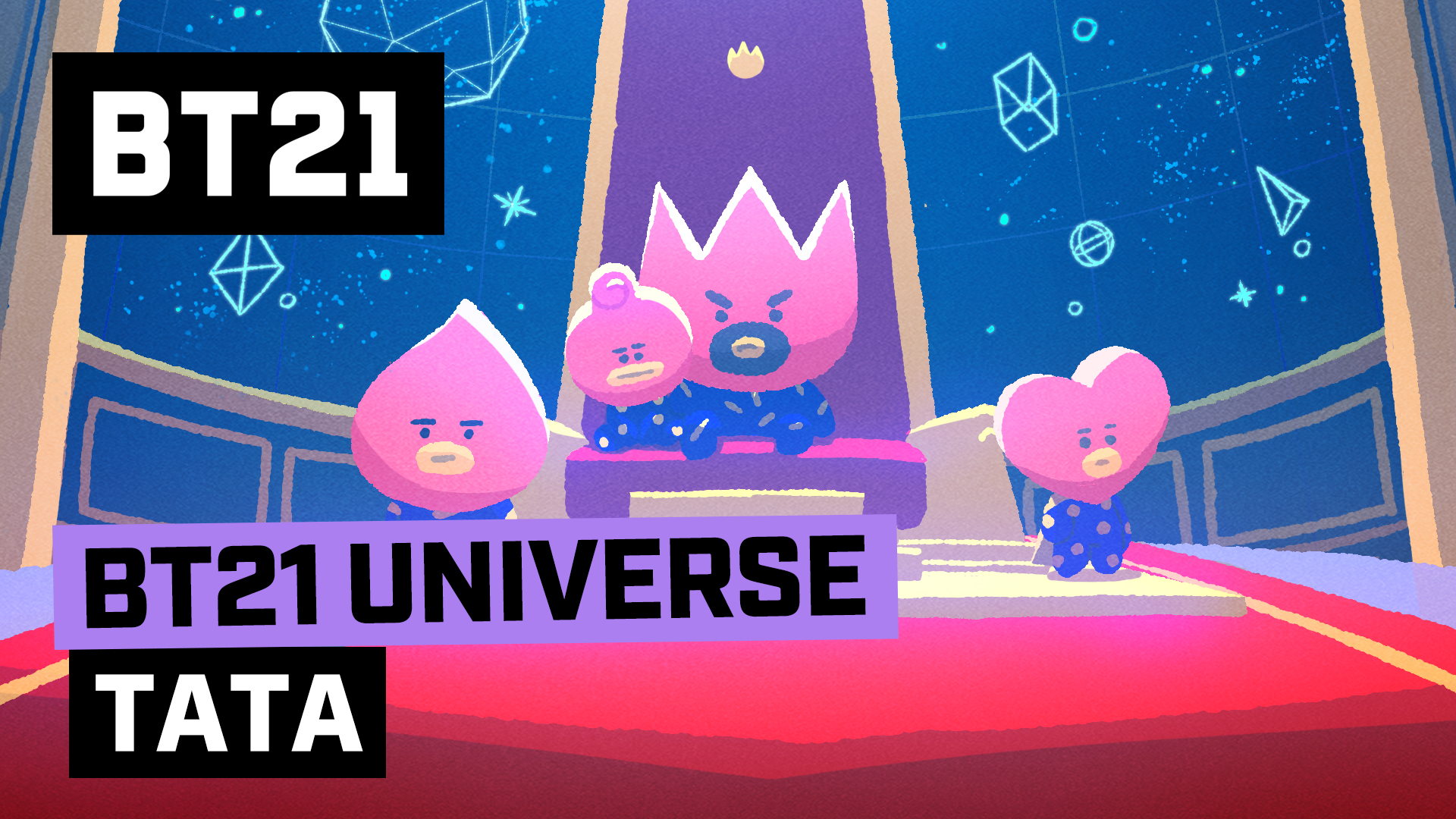 [BT21] BT21 UNIVERSE ANIMATION EP.02 - TATA