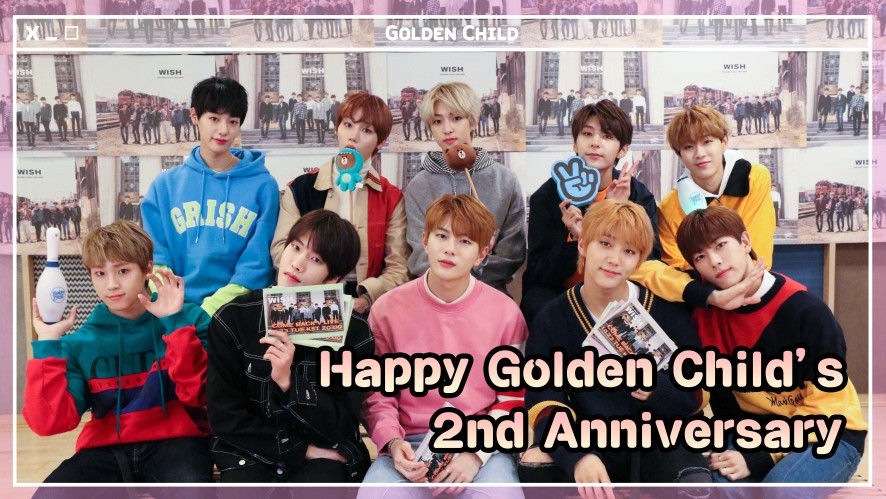 골든차일드(Golden Child) 2nd ANNIVERSARY