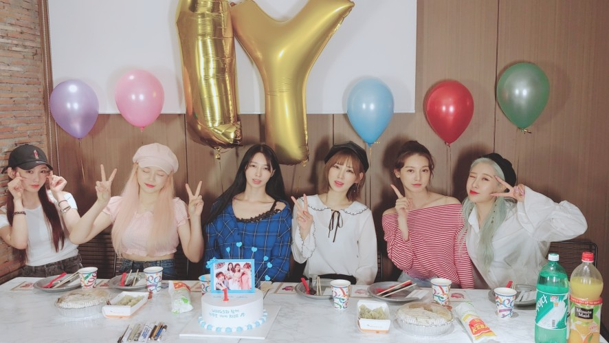 WE GIRLS 1주년 기념 PARTY TIME~~HAPPY 1st anniversary